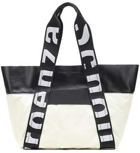 Proenza Schouler Canvas and leather shopper