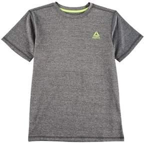 Reebok Big Boys Marled Logo T-Shirt