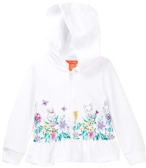 Joe Fresh Panel Print Hoodie (Toddler & Little Girls)