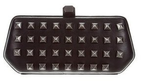 Rebecca Minkoff Studded Leather Clutch - BLACK - STYLE