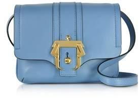 Paula Cademartori Women's Blue Leather Shoulder Bag.
