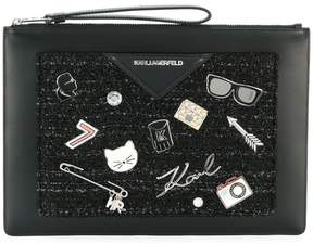 Karl Lagerfeld Klassik Pins clutch
