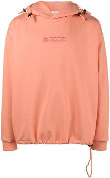 Martine Rose logo print hoodie