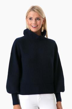 Demy Lee Navy Claudette Sweater