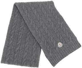 Moncler classic knitted scarf