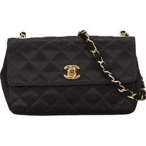 Chanel Timeless silk handbag