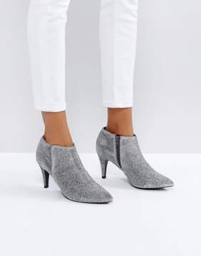 New Look Glitter Heeled Boot