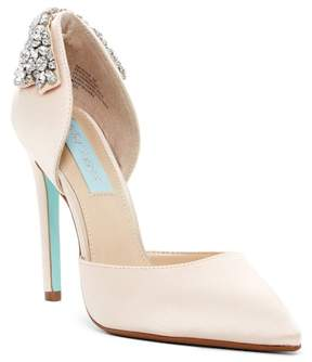 Betsey Johnson Rosie Crystal Embellished Pump