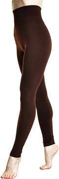 Angelina Chocolate High-Waist Slimming Shaper Leggings - Women