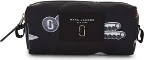 Marc Jacobs Printed nylon cosmetics bag