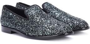 Jimmy Choo Marlo glitter loafers