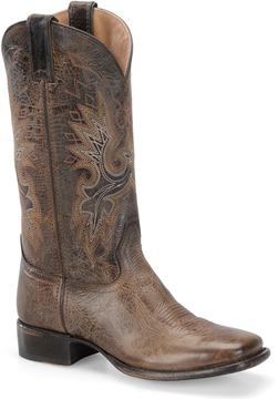 Sonora Chocolate Ava Leather Cowboy Boot