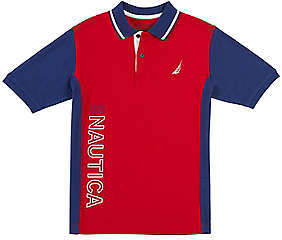 Nautica Toddler Boys' Color Block Signature Polo Shirt (2T-3T)