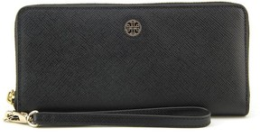 Tory Burch Perry Zip Passport Continental Wallet Women Black NWT - BLACK - STYLE