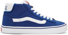 Vans Blue Schoeller Edition Mid Skool Lite LX Sneakers