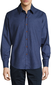 Robert Graham Men's Murano Houndstooth Check Sportshirt