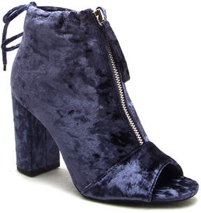 Qupid Blue Chester Bootie - Women