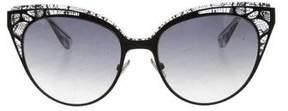 Jimmy Choo Oversize Lace Sunglasses