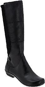 Dansko Leather Tall Shaft Boots - Odette