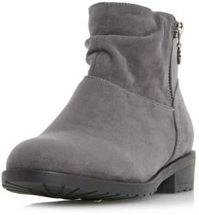 Head Over Heels *Head Over Heels by Dune Grey 'Perci' Ankle Boots