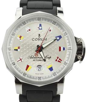 Corum The Admirals Cup Trophy 082.830.20 Stainless Steel & Rubber Automatic 40mm Mens Watch