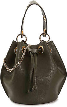 Urban Expressions Grommet Bucket Bag - Women's