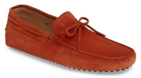 Tod's Men's Gommini Tie Front Driving Moccasin