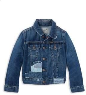 Ralph Lauren Toddler's, Little Girl's& Girl's Denim Jacket