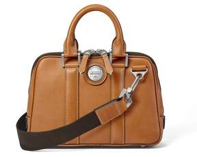 Aspinal of London Aerodrome Mini Mission Bag In Smooth Tan