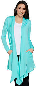 Cuddl Duds As Is Ultra Fine Comfort Drape Front Wrap