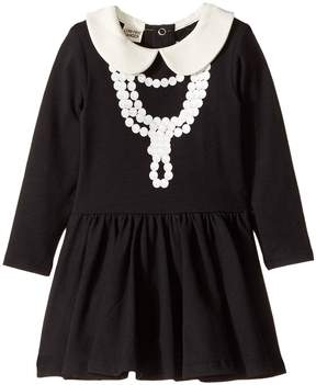 Rock Your Baby Coco-Pearl Necklace Waisted Dress Girl's Dress