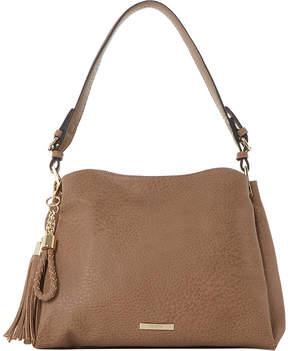 Dune Charm-detail faux-leather shoulder bag