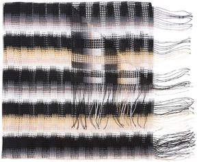 Missoni box plaid scarf