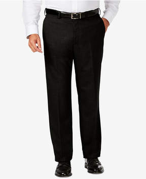 Haggar J.m. Big & Tall Classic Fit Stretch Sharkskin Flat Front Dress Pants