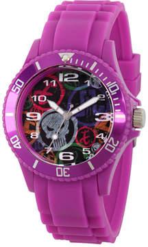 Marvel Classic Mens Purple Strap Watch-Wma000067