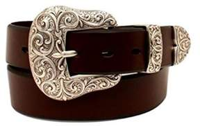 Ariat A1523202-M 1.5 in. Womens Buckle Set Belt, Brown - Medium, 3 Piece