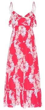 Athena Procopiou Heartbeats silk maxi dress