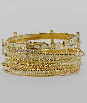 BKE Bangle Bracelet Set