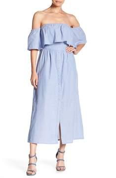 J.o.a. Off-the-Shoulder Dress