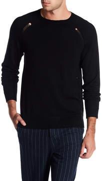 Joe's Jeans Godfrey Wool Distressed Pullover