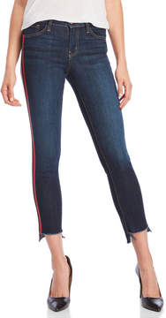 Flying Monkey Red Tuxedo Stripe Jeans