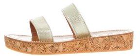 K Jacques St Tropez Cluny Flatform Sandals w/ Tags