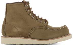 Red Wing Shoes Green Leather Ankle Boots