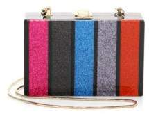Milly Glitter Box Clutch