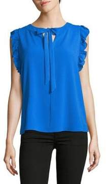 CeCe Front Tie Sleeveless Top
