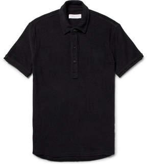 Orlebar Brown Sebastian Slim-Fit Cotton-Terry Polo Shirt