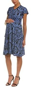 Everly Grey Maternity Kathy Wrap Dress.