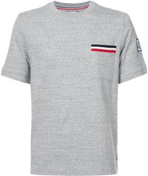 Moncler Gamme Bleu stripe detail T-shirt