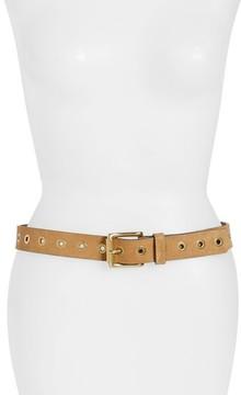 Frye Women's Grommet Leather Belt