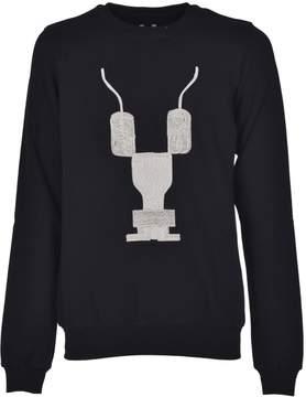 Drkshdw Rick Owens Embroidered Sweatshirt